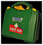 First Aid Kit Green 10 Person