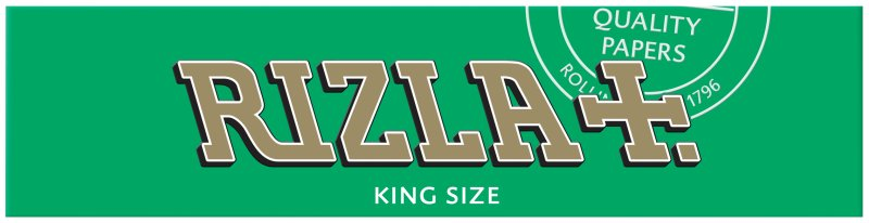 Rizla King Size Papers Green