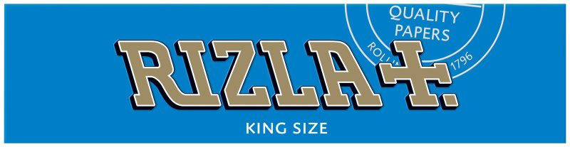Rizla King Size Papers Blue