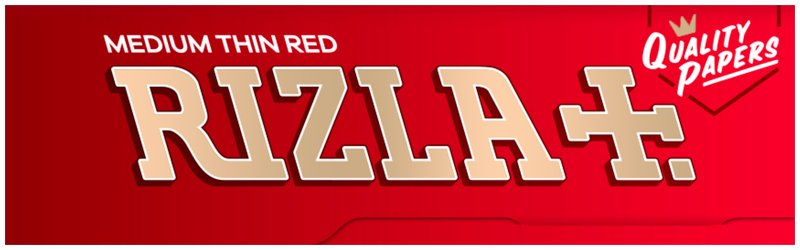 Rizla Cigarette Papers Red