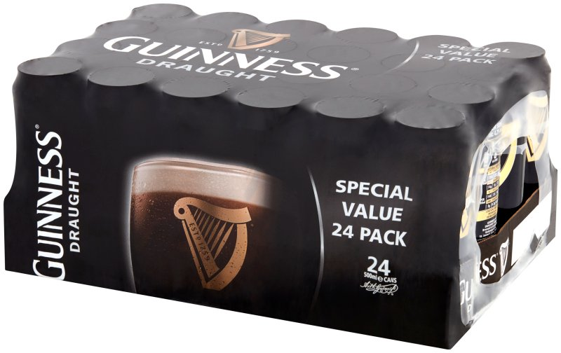 Guinness Draught Can 24 Pack Christmas Wrap
