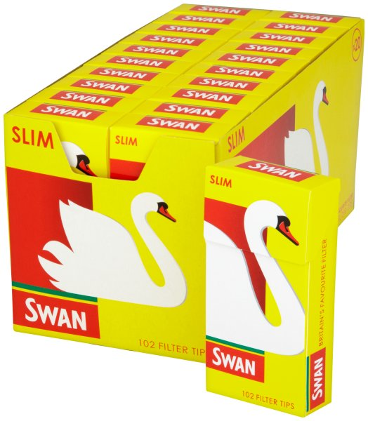 Swan Slim Pre Cut Filter Tips