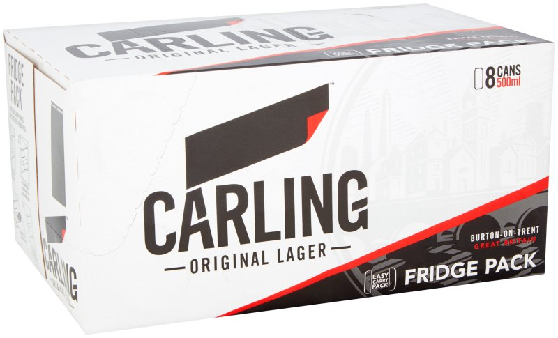 Carling Can 8 Pack