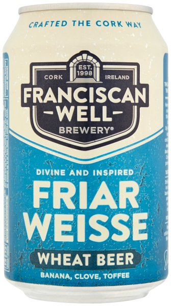 Franciscan Wells Friar Weisse Can