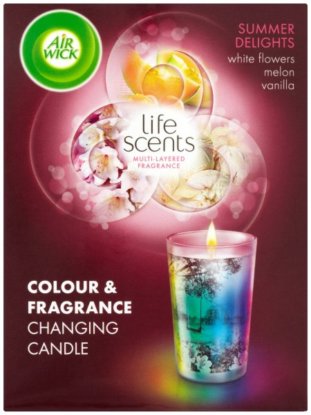 Airwick Life Scents Colour Candle Summer Delights