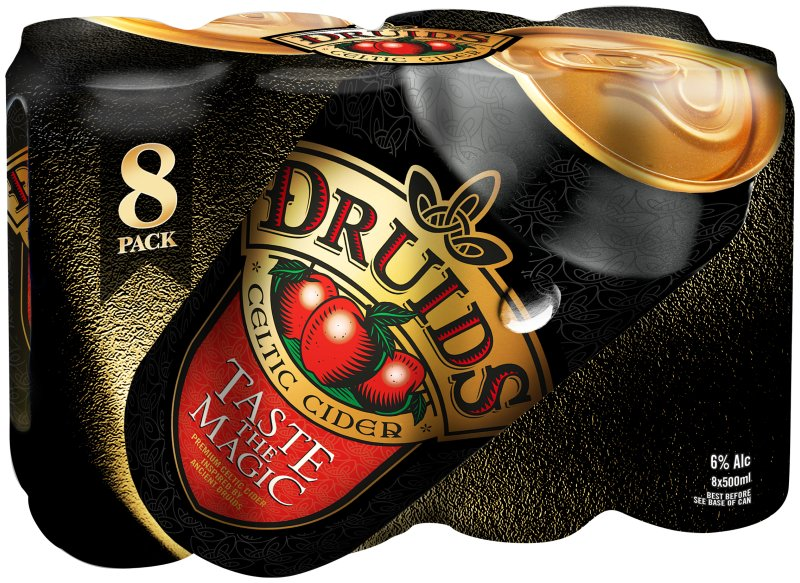 Druids Can 8 Pack