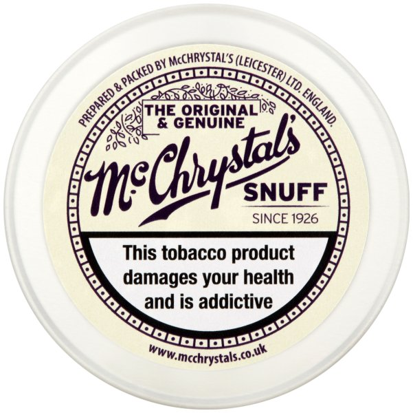 McCrystals Snuff Extra Large