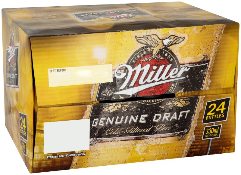Miller Bottle Loose Pack