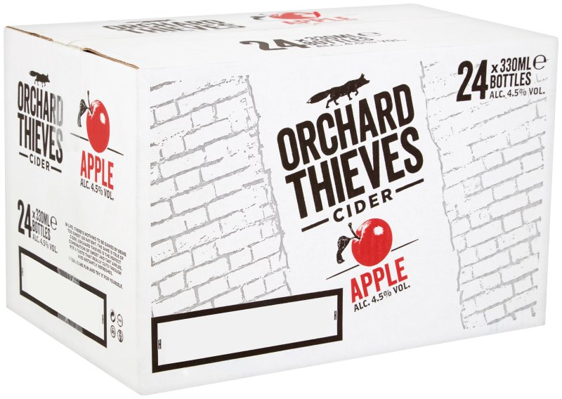 Orchard Thieves non returnable cider 330ml bottle