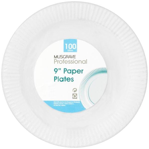 Musgrave Professional Paper Plates Plain 9 Inches  sc 1 st  Musgrave MarketPlace & Musgrave Professional Paper Plates Plain 9 Inches \u2013 Cork Click ...