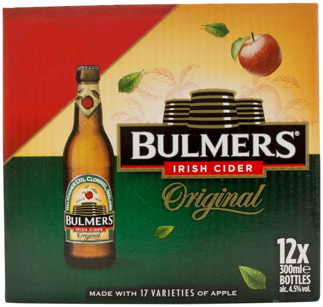 Bulmers 12pk Flashed Euro 15.00