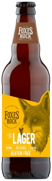 Foxes Rock gluten free lager