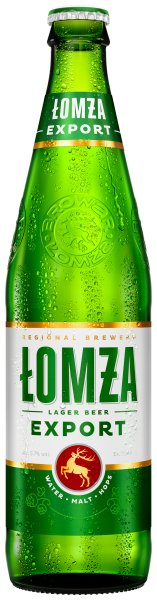 Lomza Export Polish Lager bottle