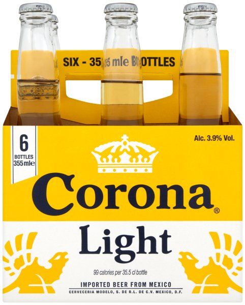 Corona Light Bottle 6 Pack