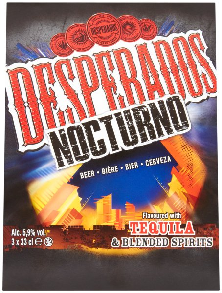 Desperados Nocturno 33cl 3 pk bottle