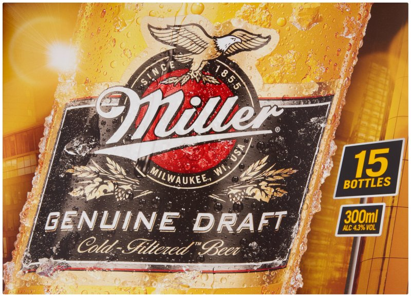 Miller Bottle 15 Pack